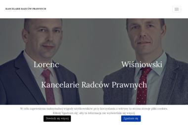Kancelaria Radcy Prawnego Robert Lorenc Maciej Wiśniowski - Pomoc Prawna Wieliczka