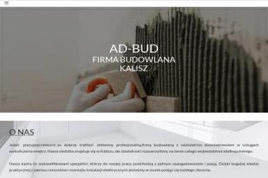 Firma Remontowo-Budowlana AD-BUD - Tapetowanie Ścian Kalisz