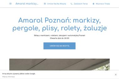 AMAROL - Żaluzje, moskitiery Poznań