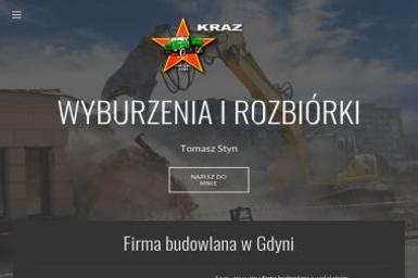 Kraz Transport Wykopy Tomasz Styn - Wyburzenia Gdynia