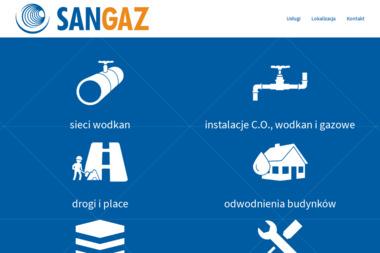 Sangaz - Instalacje gazowe Gdańsk