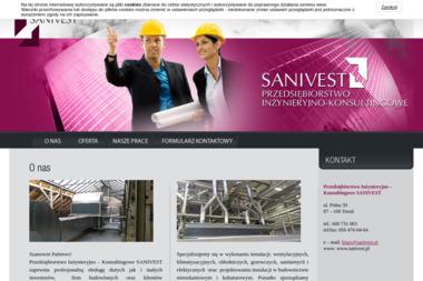 Przedsiębiorstwo Inżynieryjno –  Konsultingowe SANIVEST - Kosztorysy, ekspertyzy Toruń