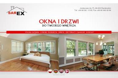 OKNA DRZWI SAREX - Okna Drewniane Świebodzin