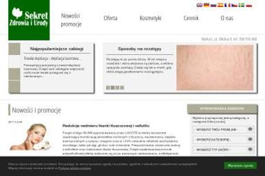 Sekret Zdrowia i Urody - Manicure i pedicure Wieluń