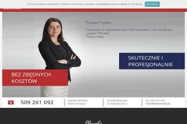 Joanna Słomska Radca Prawny - Prawo Wieliczka