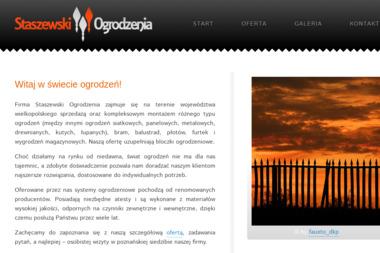 Staszewski Ogrodzenia - Ogrodzenia drewniane Poznań