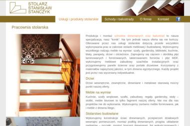 Pracownia Stolarska Stanisław Stańczyk - Balustrady drewniane Baniocha