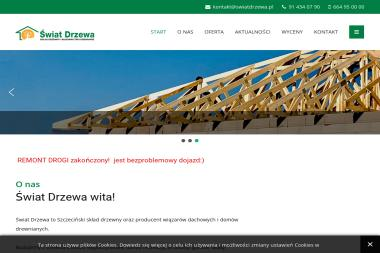 Świat Drzewa - Skład drewna Szczecin