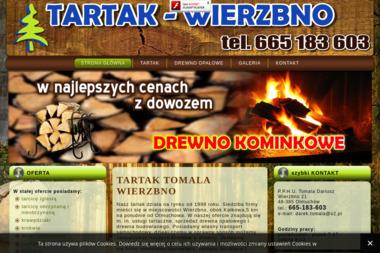 P.P.H.U. Tomala Dariusz - Drewno kominkowe Otmuchów