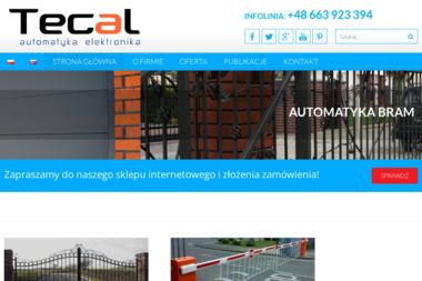TECAL - automatyka, elektronika - Alarmy Węgierska Górka