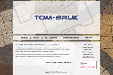 TOM- BRUK Tomasz Apoczkin - Firma Układająca Kostkę Brukową Choszczno