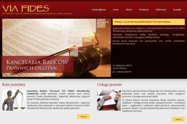 VIA FIDES - Porady Prawne Olsztyn
