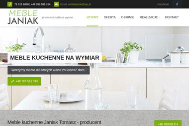 Przedsiębiorstwo Wielobranżowe TOMASZ JANIAK - Meble na wymiar Twardogóra