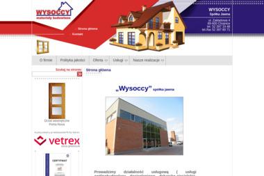 """""""WYSOCCY"""" - materiały budowlane - Okna Chojnice"""