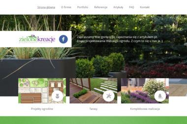 Zielone kreacje - projektowanie ogrodów - Ogrody Zimowe na Balkonie Gdańsk
