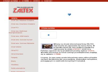 Firma ŻALTEX - Okna drewniane Radomsko
