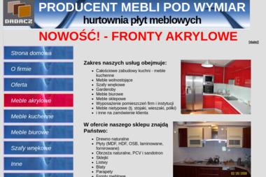 Firma F.H.U.P. Zdzisław Dadacz - Meble na wymiar Łuków