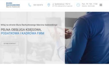 Biuro Rachunkowe Marcin Sadowski - Kadry Aleksandrów Kujawski