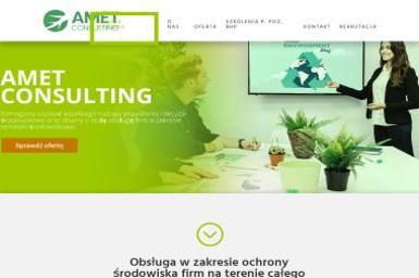 Amet Consulting Sp. z o.o. - Ochrona 艣rodowiska Trzebownisko
