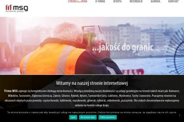 MSG Michał Sędziwy - Geodeta Katowice