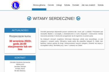 Ośrodek Szkolenia Kierowców HERKULES Jarosław Stempin - Szkoła Jazdy Oleśnica
