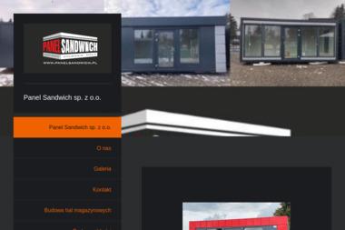 Panel Sandwich - Blaszane Garaże Bikówek