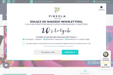 Pinsola - Sprzedaż Tkanin Łódź