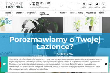 Projekt Łazienka - Kacper Czarnota - Meble do łazienki i toalety Gdańsk