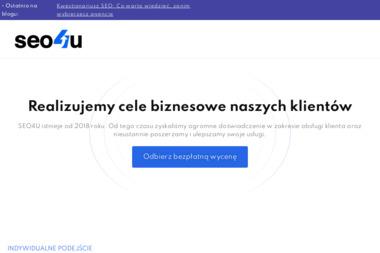 SEO4U.PL - pozycjonowanie, strony internetowe i sklepy! - Projektowanie Logotypów Jadachy