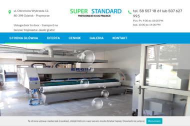 Super Standard - Pranie i prasowanie Gdańsk