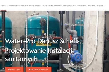WATER PRO Projektowanie i Nadzory Instalacji Sanitarnych mgr inż. Dariusz Scheffs - Kierownicy Budowy Chojnice