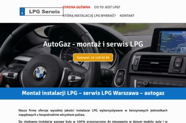 Montaż - Serwis LPG Warszawa - Instalacje LPG Warszawa