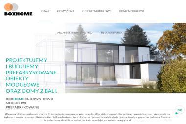 BOXHOME Sp. z o.o. - Domy modułowe WARSZAWA