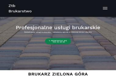 Maciej Halicki - Układanie kostki granitowej Zielona Góra