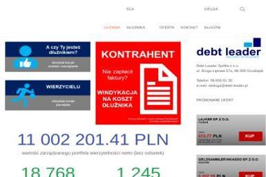 Debt Leader Spółka z o.o. - Skup długów Grudziądz