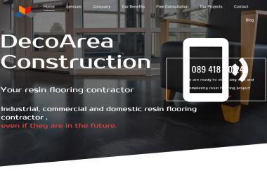 DecoArea Construction - Wykonanie Posadzki Żywicznej Limerick