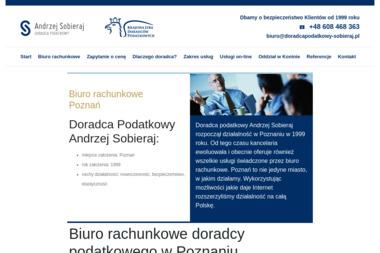 Kancelaria Doradcy Podatkowego Andrzeja Sobieraja - Doradca podatkowy Poznań