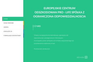 Europejskie Centrum Odszkodowań Pro-Life - Firma transportowa Łuków