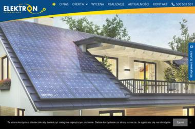 Elektron Fotowoltaika - Kolektory Słoneczne Nowogród