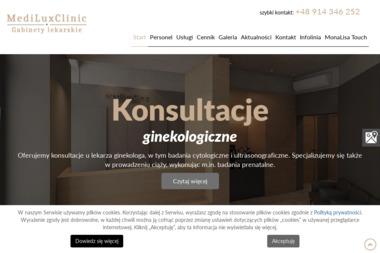 Medi Lux Clinic. Gabinety lekarskie - Ginekolog Szczecin