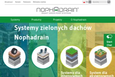 Nophadrain Polska Sp. z o.o - Pokrycia dachowe Chorzów