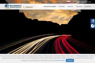 Transport Ciężarowy Edmund Waszkiewicz - Odśnieżanie Jeleniewo