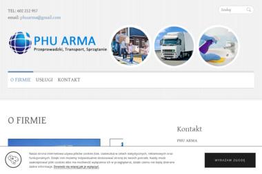 PHU ARMA - Pralnia Warszawa