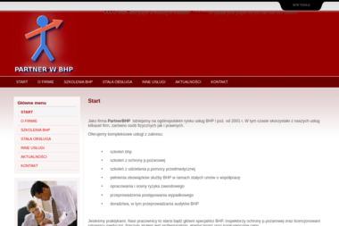PARTNERBHP - Szkolenia BHP PIEKOSZÓW