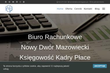 Księgowość Kadry Płace Wioletta Piasecka - Sprawozdania Finansowe Nowy Dwór Mazowiecki