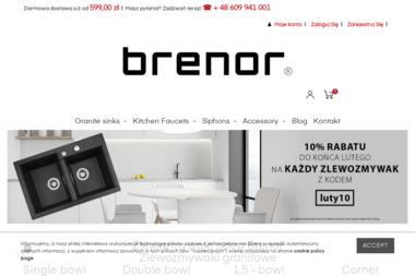 Brenor sp. z o.o. - Sklep internetowy Brenno