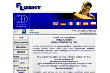 Fluent Kursy/Szkolenia Językowe - Kurs rosyjskiego Gdańsk