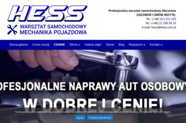 Hess - Elektryk samochodowy Warszawa