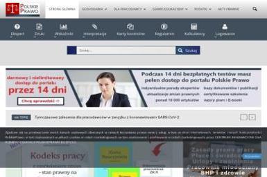 Serwis Informacyjny Polskiego Prawa Sp.zoo - Portale internetowe Kraków