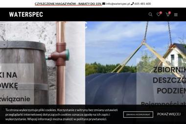 Waterspec - Dostawy wody Głuchowo